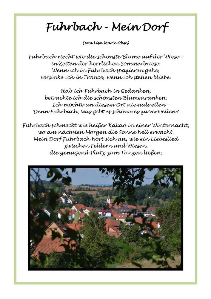 Fuhrbach Mein Dorf