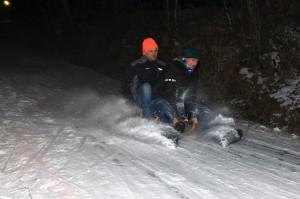 Winterrodeln Teil 2